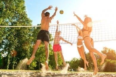 Hotel Völserhof - Sommerurlaub - Gastein - Volleyball
