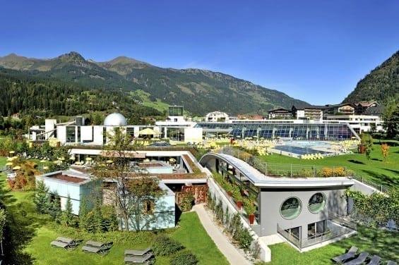 Alpentherme Gastein - Hotel Völserhof in unmittelbarer Nähe
