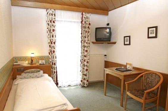Wasserhotel Völserhof - Zimmer Bad Hofgastein - Kategorie 4 - Einzelzimmer